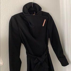 Ted Baker belted wrap coat